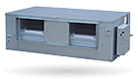 Commercial air-conditioners.Freon. Indoor VRF. Ducted VRF high pressure