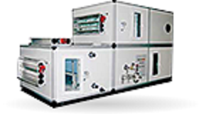 Commercial air-conditioners. Ventilation systems. Air handling units